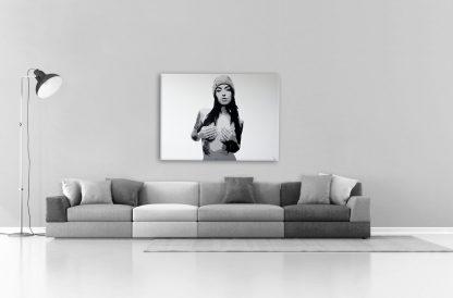 femme nue tableau décoration contemporain