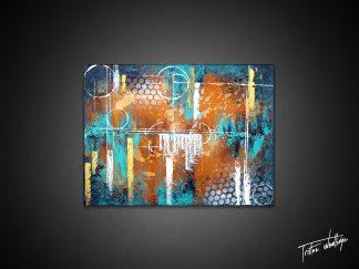 Tableau abstrait décoration