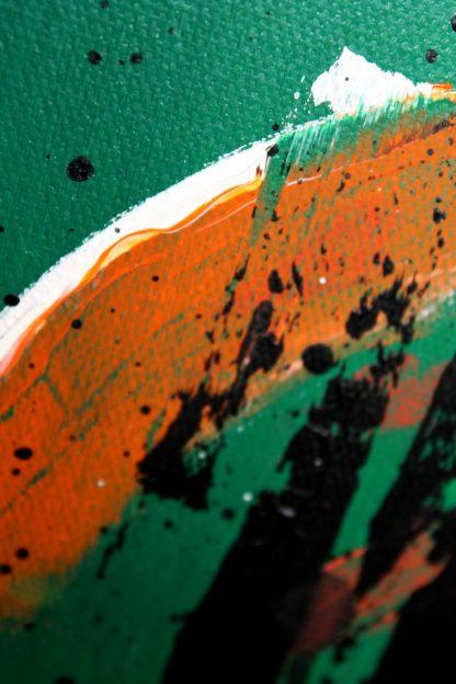 détails tableau abstrait